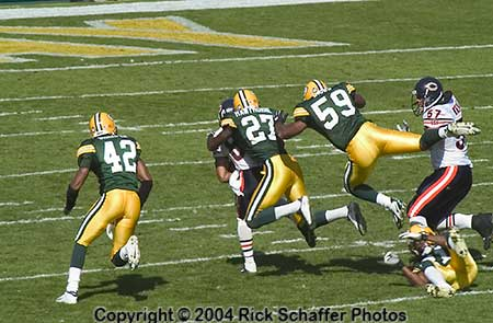 2004 Green Bay PACKERS vs BEARS
